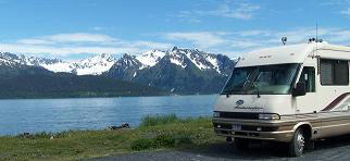 RV    Camping at Seward Alaska