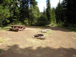 Crater Lake Campground - Idaho