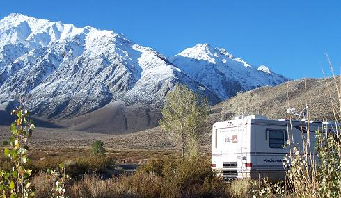 California RV Camping - Crowley Lake