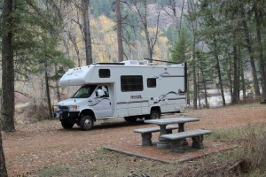 Danville Washington RV Camping Site