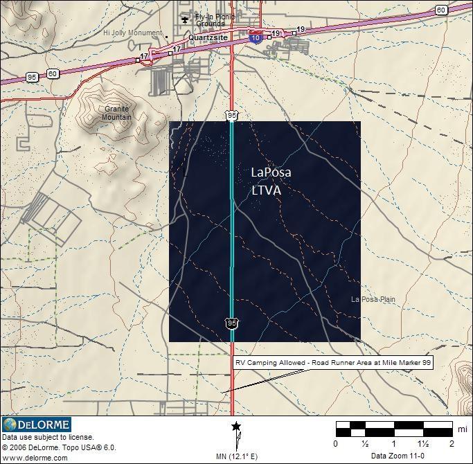 LaPosa LTVA RV Camping   Area