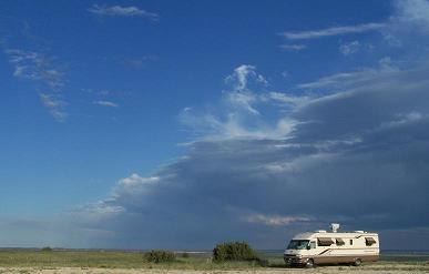 RV Camping View