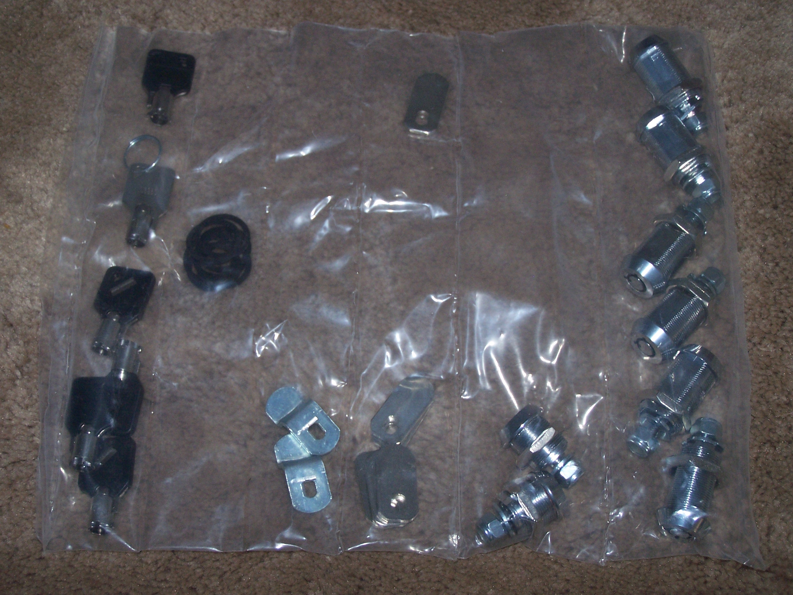 RV Replacement Lock Kit Of Parts