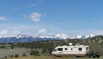 Boondocking In Pike National Forest