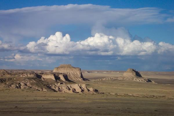 Pawnee Buttes Near Brush