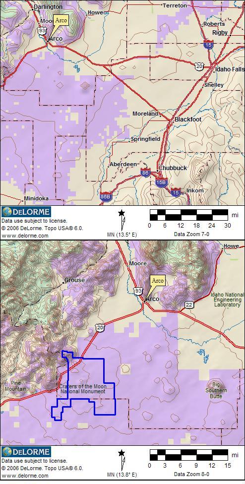 Blm Land Idaho Map.Idaho Rv Camping Rv Camping