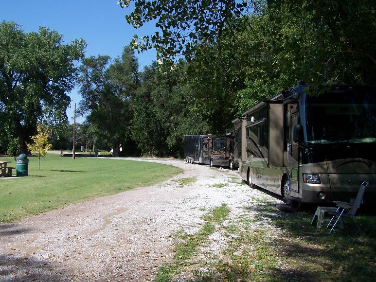 RV Park In The Woods