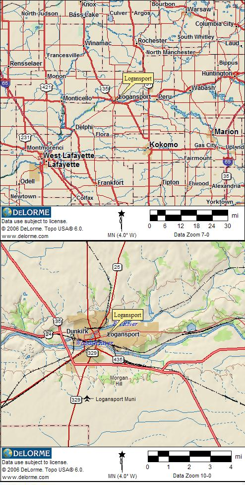 Us Indiana Map Globalinterco - Us 24 map