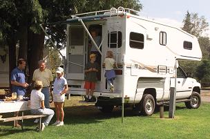 RV Camping - California