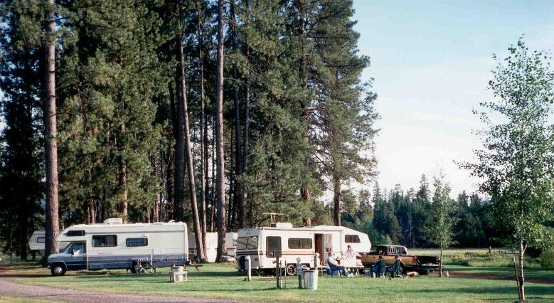 RV Camping - Private RV Parks