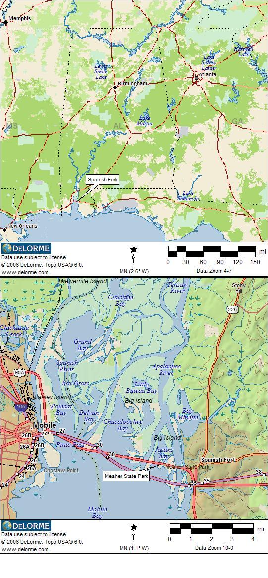 Alabama RV Camping | RV Camping on
