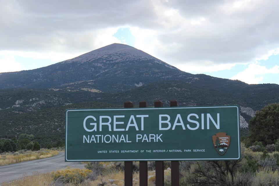 Great Basin National Park Entrance Sign