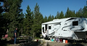 Yellowstone RV Camping - Indian Creek Campground